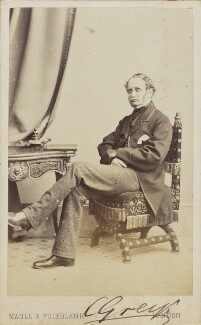 Sir Charles Grey, by Maull & Polyblank, 1860s - NPG Ax68094 - © National Portrait Gallery, London