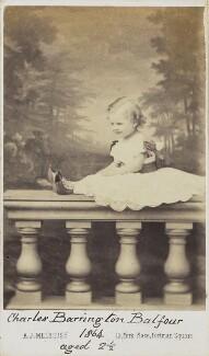 Charles Barrington Balfour, by A.J. (Arthur James) Melhuish - NPG Ax68097