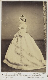 Jane Elizabeth (née Liddell), Viscountess Barrington, by A.J. (Arthur James) Melhuish - NPG Ax68098