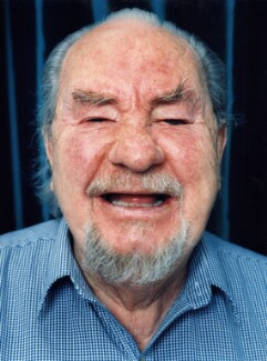 Leo McKern, by Polly Borland - NPG x88474