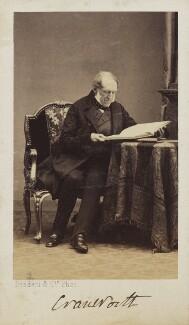 Robert Monsey Rolfe, Baron Cranworth, by Disdéri - NPG Ax68117