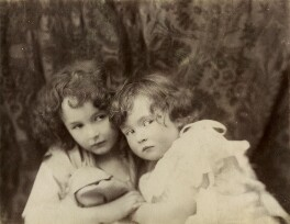 Leopold Hamilton Myers; Silvia Constance Myers, by Hayman Seleg Mendelssohn, late 1880s - NPG Ax68376 - © National Portrait Gallery, London