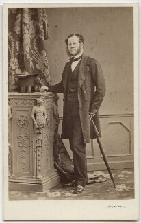 Charles Henry Gordon-Lennox, 6th Duke of Richmond, 6th Duke of Lennox and 1st Duke of Gordon, by Southwell Brothers, 1862-1863 - NPG Ax7407 - © National Portrait Gallery, London