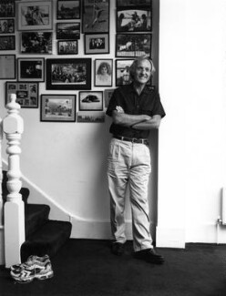 John Richard Pilger, by Polly Borland - NPG x88487