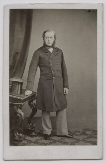 John Winston Spencer Churchill, 7th Duke of Marlborough, by Maull & Polyblank, circa 1862 - NPG Ax7414 - © National Portrait Gallery, London