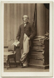 Horatio William Walpole, 4th Earl of Orford, by Camille Silvy - NPG Ax7425