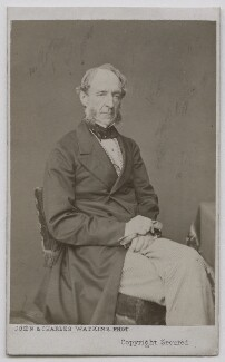 Robert Grosvenor, 1st Baron Ebury, by John & Charles Watkins, 1865-1870 - NPG Ax7428 - © National Portrait Gallery, London