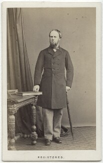 John Wodehouse, 1st Earl of Kimberley, by Thomas Cranfield, 1865 - NPG Ax7431 - © National Portrait Gallery, London