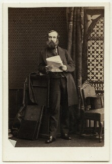 David Graham Drummond Ogilvy, 5th Earl of Airlie, by Camille Silvy - NPG Ax7439