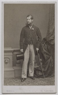 George Harry Grey, 7th Earl of Stamford, by John Jabez Edwin Mayall - NPG Ax7446