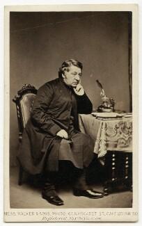 Walter John Trower, by William Walker & Sons, 1862-1866 - NPG Ax7471 - © National Portrait Gallery, London