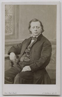 Henry Ward Beecher, by Leonida Caldesi - NPG Ax7491