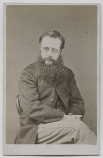 Wilkie Collins, by Cundall, Downes & Co, 1860-1865 - NPG Ax7517 - © National Portrait Gallery, London