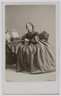 Harriet Beecher Stowe, by William Notman - NPG Ax7548