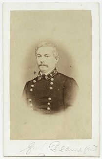 Pierre Gustave Toutant Beauregard, published by Charles Bristow Walker - NPG Ax7586