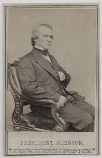 Andrew Johnson, by Mathew B. Brady - NPG Ax7589