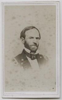 William Tecumsah Sherman, published by Charles DeForest Fredricks & Co - NPG Ax7590