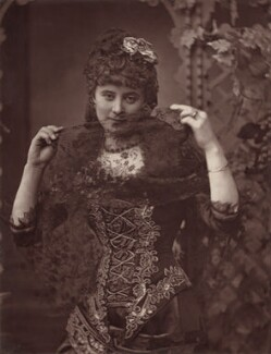 Florence St John as Olivette in 'Olivette', by London Stereoscopic & Photographic Company - NPG Ax7596