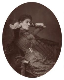 Myra Holme (Myra Emily (née Moore), Lady Pinero) as Clara Dart in 'The Mighty Dollar', by Lock & Whitfield - NPG Ax7599