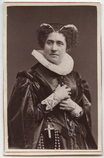 Adelaide Ristori as Mary Stuart, by Unknown photographer - NPG Ax7603
