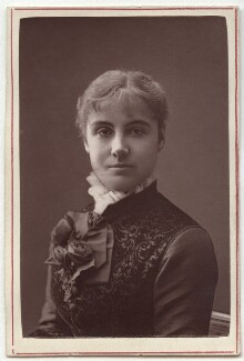 Adelaide Neilson, by Unknown photographer, 1870s - NPG Ax7605 - © National Portrait Gallery, London
