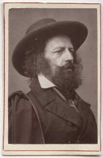 Alfred, Lord Tennyson, after James Mudd, 1870s (1861) - NPG Ax7608 - © National Portrait Gallery, London
