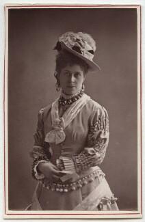 Caroline L. Brook Hill, by Fradelle & Marshall - NPG Ax7609