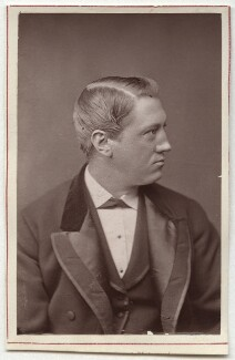 George Augustus Conquest (né Oliver), by Unknown photographer - NPG Ax7624