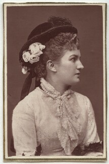 Nelly (Nellie) Bromley, by Unknown photographer - NPG Ax7626