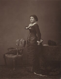 Dame (Lucy) Genevieve Teresa Ward, Countess de Guerbel as Stephanie, Marquise de Mohrivart in 'Forget Me Not', by Unknown photographer - NPG Ax7632