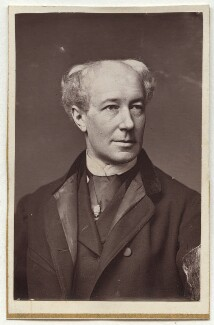 William Farren, by Unknown photographer - NPG Ax7638