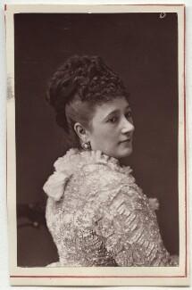 Mrs John Wood (Matilda Charlotte Vining), by Unknown photographer - NPG Ax7646