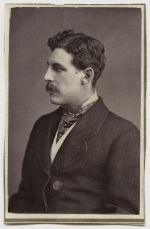 Sir Squire Bancroft (né Butterfield), by Unknown photographer - NPG Ax7663