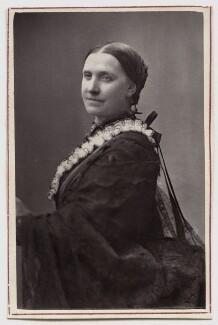 Sarah Jane Mellon (née Woolgar), by Fradelle & Marshall - NPG Ax7675