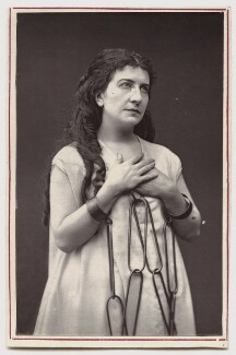 Dame (Lucy) Genevieve Teresa Ward, Countess de Guerbel as Rebecca in 'Ivanhoe', by Unknown photographer - NPG Ax7678