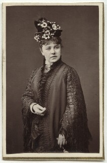 Marie Effie (née Wilton), Lady Bancroft, by Lock & Whitfield - NPG Ax7686
