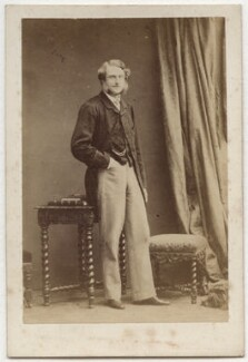 Gilbert Henry Heathcote-Drummond-Willoughby, 1st Earl of Ancaster, by Camille Silvy - NPG Ax77066