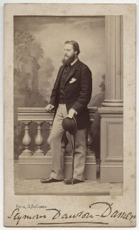 Lionel Seymour William Dawson-Damer, 4th Earl of Portarlington, by Ferret - NPG Ax77073