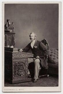 Sir David Baird, 3rd Bt, by Southwell Brothers - NPG Ax77118