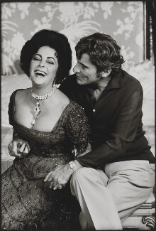 Dame Elizabeth Taylor; John William Warner, by Terry O'Neill - NPG x88496