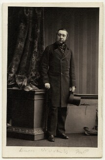 Henry Hussey Vivian, 1st Baron Swansea, by Camille Silvy - NPG Ax77146