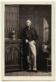 Charles James Monk, by Camille Silvy - NPG Ax77152