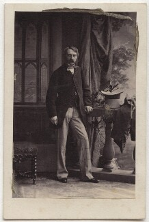James Charles Herbert Welbore Ellis Agar, 3rd Earl of Normanton, by Camille Silvy, 1860 - NPG Ax77185 - © National Portrait Gallery, London