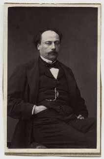 Alexandre Dumas Jr, by Unknown photographer - NPG Ax7722