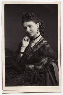 Emma Albani, by Unknown photographer - NPG Ax7735