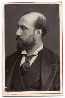 Jean Baptiste Faure, by Unknown photographer, 1870s - NPG Ax7737 - © National Portrait Gallery, London