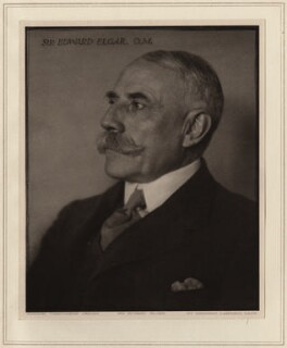 Sir Edward Elgar, Bt, by Herbert Lambert - NPG Ax7741