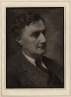Ralph Vaughan Williams, by Herbert Lambert - NPG Ax7744