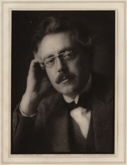 Frank Bridge, by Herbert Lambert - NPG Ax7749