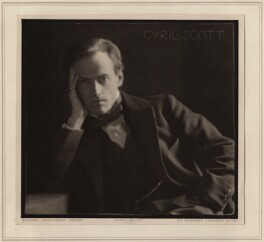 Cyril Scott, by Herbert Lambert - NPG Ax7750